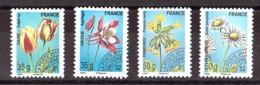 France - 2011 - Préoblitérés N° 259 à 262 - Neufs ** - Fleurs - Precancels