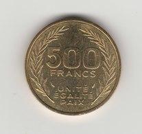 500 FRANCS 1991 - Djibouti