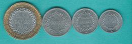Cambodia - Norodom - 1994: 50, 100, 250 & 500 Riels (KMs 92-95) - Cambodge