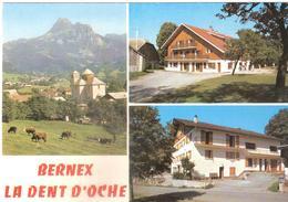 CPSM DE BERNEX CLAIR MATIN ET GRANGE BLANCHE - Otros Municipios