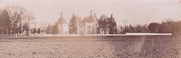 Photographie Loire 42 Champdieu Château Vaugirard De La Famille Charvet Coté Gauche Et Entrée 1896 Ref 200606 - Photos