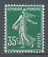 France YT N°361 Semeuse Fond Plein Neuf ** - France