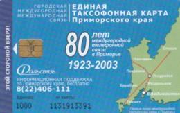 PHONE CARD RUSSIA VLADIVOSTOK (E63.11.8 - Russia