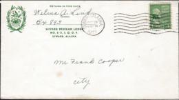USA Cover Posted Seward, Alaska 1951 (G109-64) - Covers & Documents