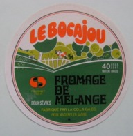 Etiquette Fromage - Le Bocajou - Fromagerie CO.LA.GA.CO Mazières En Gatine 79 Poitou - Deux-Sèvres   A Voir ! - Fromage