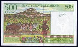 Madagascar 1998 500 Francs   UNC Neuf - Madagascar