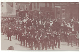 POST CARD EMPIRE DAY AT LIMINGTON  1909  Animation MUSICIAN MILITARYmen Woman DOMAN & SON C PARDEYS CHEAP HAREWARE - England