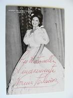 Norma Palacios Rossi Traviata  AUTOGRAFATA  TEATRO THEATRE   Théâtre STAGIONE  LIRICA OPERA - Toneel & Vermommingen