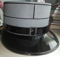 Vintage Swiss Switzerland Army Shako - Size 56 - Headpieces, Headdresses