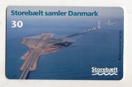 DANEMARK TELECARTE TELEKORT 30 KR STOREBAELT Date 1998 - Denemarken