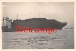 St Saint Nazaire (44) - Carte Photo : Le Lancement Du Paquebot Normandie Le 29 Octobre 1932 - Studio Rebins - Saint Nazaire