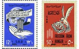 Ref. 33068 * MNH * - SYRIA. 1963. WORLD CAMPAIGN AGAINST HUNGER . CAMPAÑA MUNDIAL CONTRA EL HAMBRE - Siria