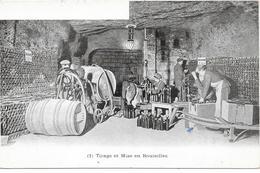 EPERNAY : TIRAGE ET MISE EN BOUTEILLES - Epernay