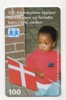 DANEMARK TELECARTE TELEKORT 100 KR Date 2001 - Denemarken