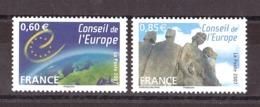France - 2007 - Service N° 136 Et 137 - Neufs ** - Service