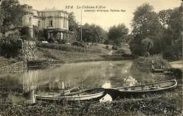 028 085 - CPA - Belgique - Spa - Le Château D'Alsa - Spa