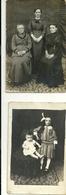 LAGO  MAGGIORE.   LUINO     2  FOTO  ANNI  1923-  COSTUMI  DELL'EPOCA-  VILLA CRIVELLI - Persone Identificate