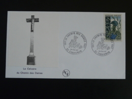 Lettre Commemorative Cover Chemin Des Dames Chavignon 02 Aisne 1987 - Guerre Mondiale (Première)