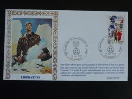 Lettre Commemorative Cover Libération 60 Ans Du Bombardement D'Evrecy 14 Calvados 2004 - Seconda Guerra Mondiale