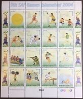 Pakistan 2004 SAE Games Sheetlet MNH - Pakistan