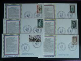 Série De 11 Lettres émises Pour Le 35ème Anniv. Appel Du 18 Juin De Gaulle Vassieux En Vercors 26 Drome 1975 - Guerre Mondiale (Seconde)
