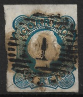 Portugal – 1855 King Pedro 25 Réis Used Stamp - 1855-1858 : D.Pedro V
