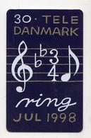 DANEMARK TELECARTE TELEKORT 30 KR Date 2000 - Denemarken