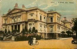 028 087 - CPA - Belgique - Spa - L'Hôtel Des Bains - Spa