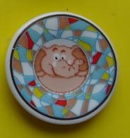 Fève  - Mugs Décorés 2012 - Assiette Sous Mug Decor éléphant - Tasse - Dieren