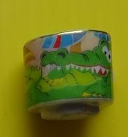 Fève  - Mugs Décorés 2012 - Mug Décor Crocodile - Tasse - Dieren