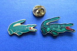 2 Pin's,ANIMALE,CROCODILE,KROKODIL - Animales