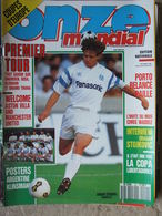 Revue Onze Mondial N°20 (sept 1990) Coupes D'Europe - Waddle - Stojkovic - Copa Libertadores - Poster - Fiches - Sport