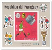 Paraguay 1969, Postfris MNH, Football - Paraguay