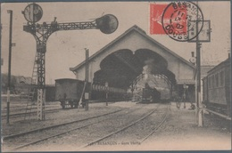Besançon , Train En Gare Viotte , Animée - Besancon