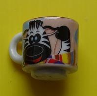 Fève  - Mugs Décorés 2012 - Mug Décor Zèbre   - Tasse - Dieren