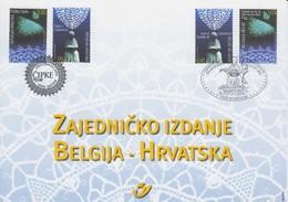 BELG.13-07-2002 Gemeenschappelijke Uitgifte Kroatie/émission Commune Fédération Avec La Croatie - Kroatië