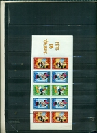 FRANCE FETE DU TIMBRE 2004 MICKEY MOUSE 1 CARNET DE 10 TIMBRES NEUF A PARTIR DE 2 EUROS - Stamp Day