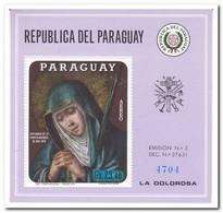 Paraguay 1970, Postfris MNH, Mater Dolorosa - Paraguay