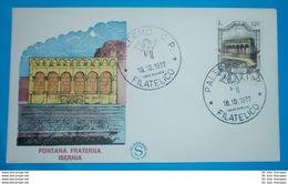 ITALIEN - FDC - Brief Letter Lettre 信 Lettera Carta пи�?ьмо Brev 手紙 จดหมาย Cover Envelope (2 Foto)(35310) - 1946-.. République