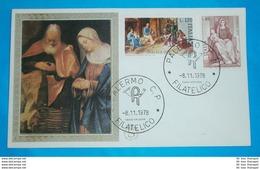 ITALIEN - FDC - Brief Letter Lettre 信 Lettera Carta пи�?ьмо Brev 手紙 จดหมาย Cover Envelope (2 Foto)(35341) - 1946-.. République
