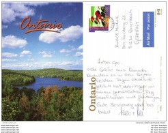 KANADA CANADA Brief Cover Lettre AK Postcard 1438 Radfahren Sport (6464) - Storia Postale