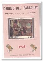 Paraguay 1967, Postfris MNH, Paintings Tiepolo - Paraguay