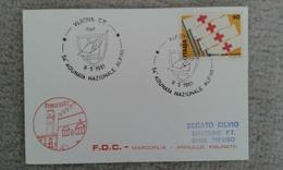 1981 - 54° ADUNATA NAZIONALE ALPINI - VERONA - ANNULLO SPECIALE - Altri