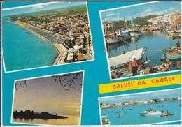 Saluti Da CAORLE  Siamo In Vacanza A Caorle,  Viaggiata 1982 - Italia
