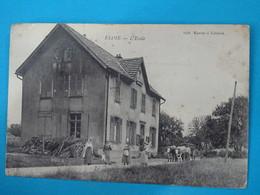"90 ) Eloie - L'école "" Attelage "" Année 1914 : EDIT : Karrer - France"