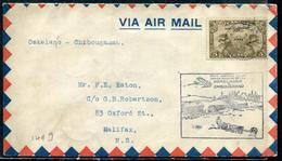 CANADA - P.A. N° 1 / 1er. VOL OSKELANEO - CHIBOUGAMAU LE 24/12/1929 - SUP - Primi Voli
