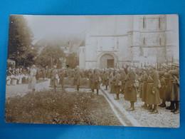 52 ) Montier En Der - Carte Photo Militaire 1914 / 1918 - Année  : EDIT : - Montier-en-Der