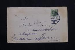 DANEMARK - Enveloppe Pour La France En 1909 - L 62076 - Briefe U. Dokumente