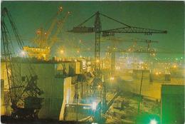 Chine    Night Scene Of  Gezhouba Dam - China