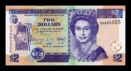 Belice Belize 2 Dollars Elizabeth II 2017 Pick 66f New SC UNC - Belice